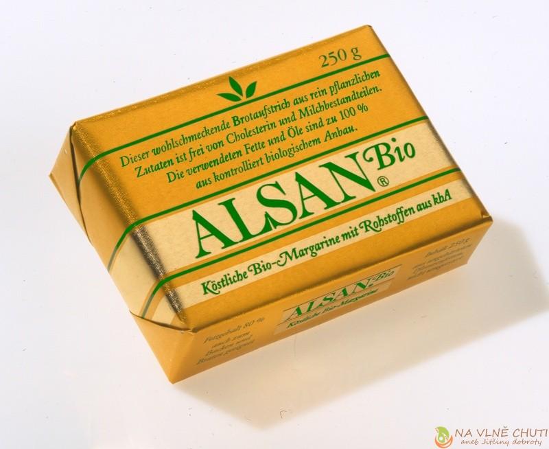 Alsan bio - náhražka za máslo