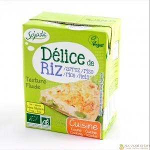 Rýžová smetana bez soji a lepku
